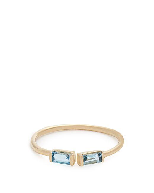 Loren Stewart - Blue Topaz & Yellow Gold Ring - Lyst