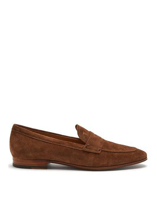 Penny Loafer A00640 suede black Tod's ybbwGGf