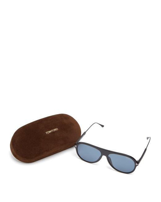 b3e2d640894 ... Tom Ford - Black Nicholai Acetate Sunglasses for Men - Lyst ...