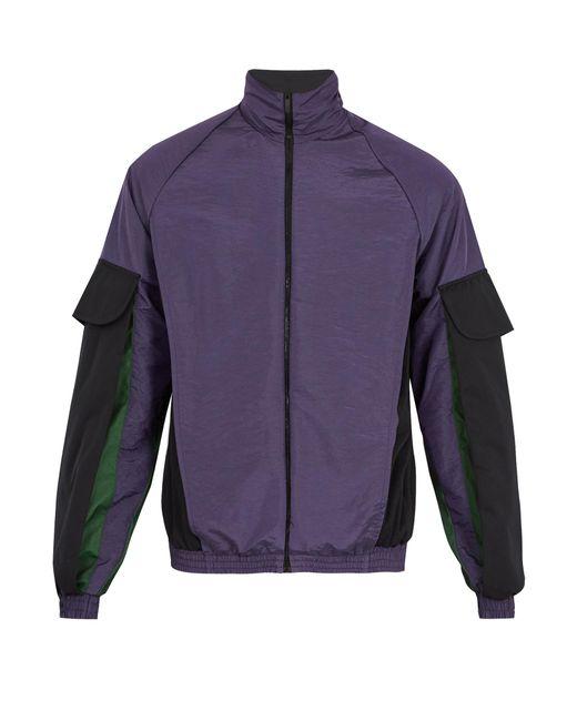 Cottweiler   Purple Contrast-panel Track Jacket for Men   Lyst