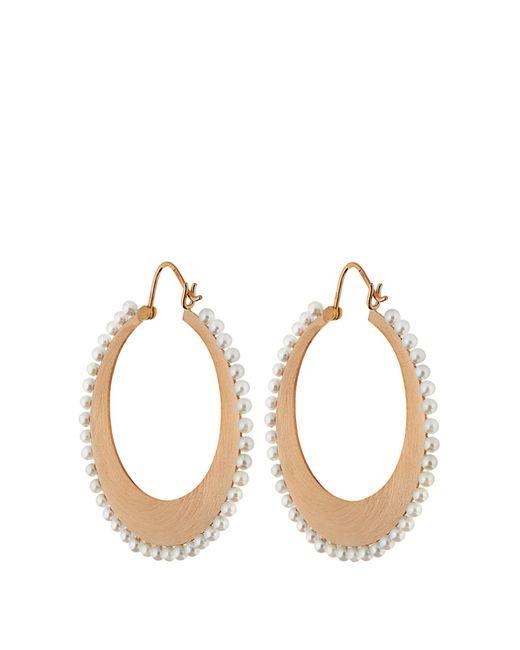 Irene Neuwirth | Blue Akoya Pearl & Rose-gold Earrings | Lyst