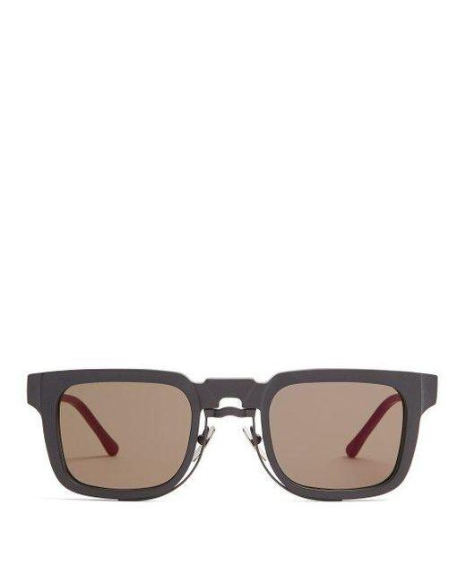 square frame sunglasses - Black Kuboraum UXsQpmbVg