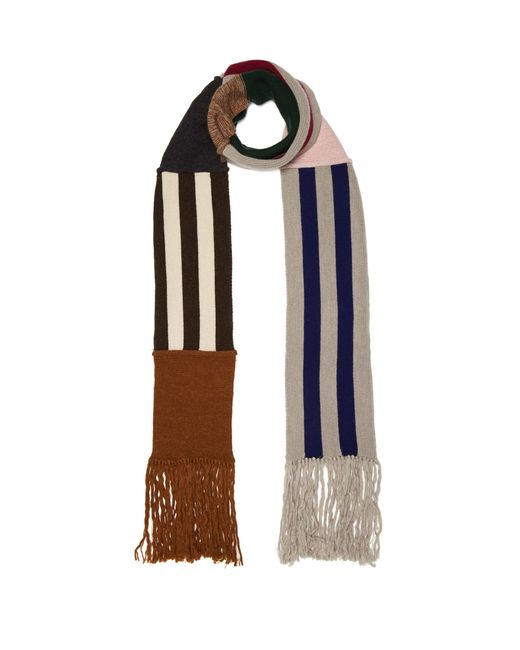 Lanvin - Multicolor Wool Blend Scarf for Men - Lyst