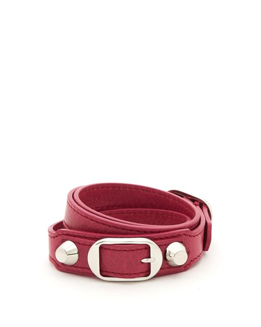 Balenciaga   Pink Classic Bracelet L   Lyst
