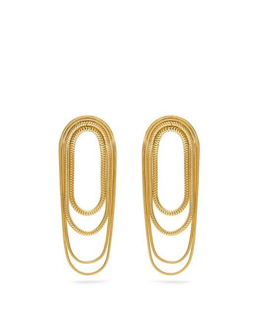 Fernando Jorge - Metallic Yellow-gold Parallel Earrings - Lyst