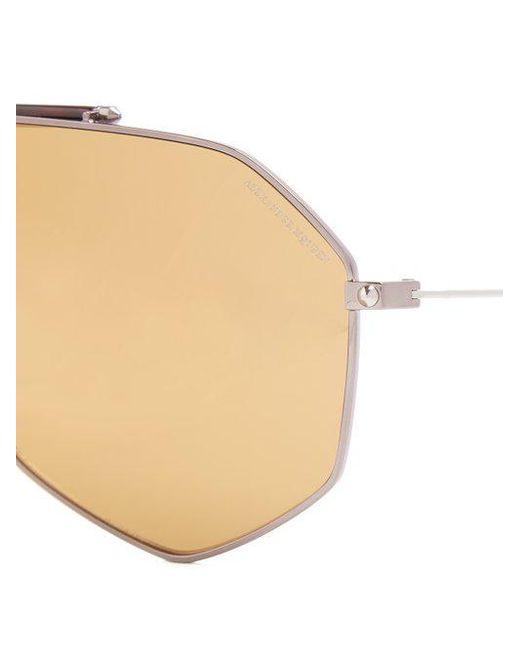 Angular D-frame metal sunglasses Alexander McQueen 6oRVSdYfQ
