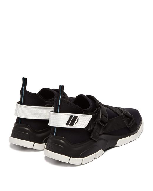 official photos d1e9f f6a2c prada-black-white-Xy-Neoprene-Low-Top-Trainers.jpeg