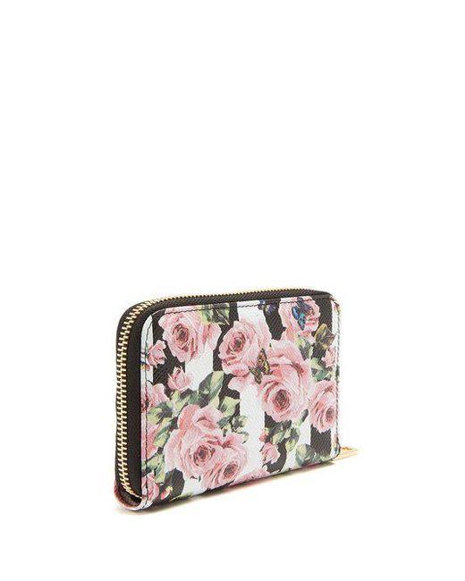 multi Rose print leather wallet - Multicolour Dolce & Gabbana YwFyZ2