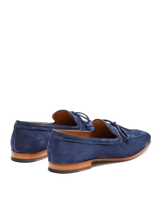 Tod's Rounded-Toe Suede Loafers how much online trusktVhBa