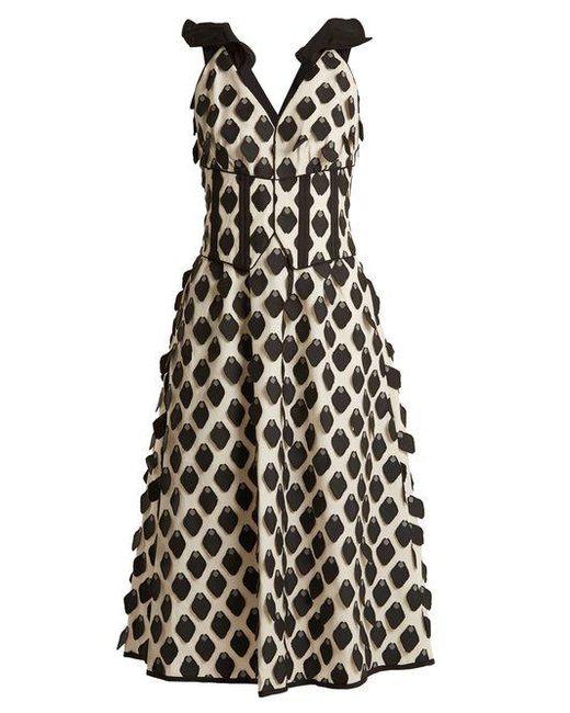 Corset-effect fil coupé midi dress Self Portrait Choice Cheap Online Sale Buy Cheap Outlet Store DoFtDsoYa