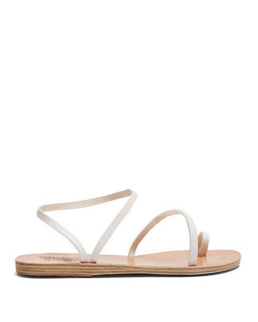 neutral Eleftheria flat leather sandals Ancient Greek Sandals Cx1B5JJkAw