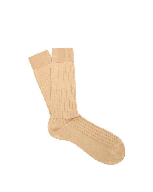 Pantherella - Natural Pembrey Cotton Blend Socks for Men - Lyst