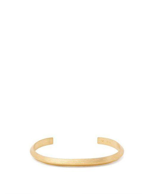 All_blues - Metallic Triangle Gold-plated Bracelet - Lyst