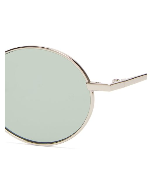bac0651f654 ... Gentle Monster - Metallic Cobalt Round Frame Metal Sunglasses for Men -  Lyst