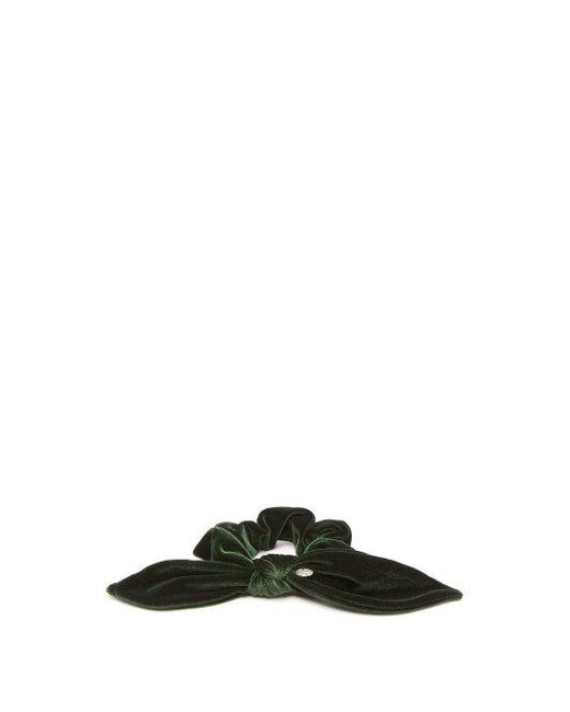 House of Lafayette Bow-embellished velvet hair tie YmqeH9Gy