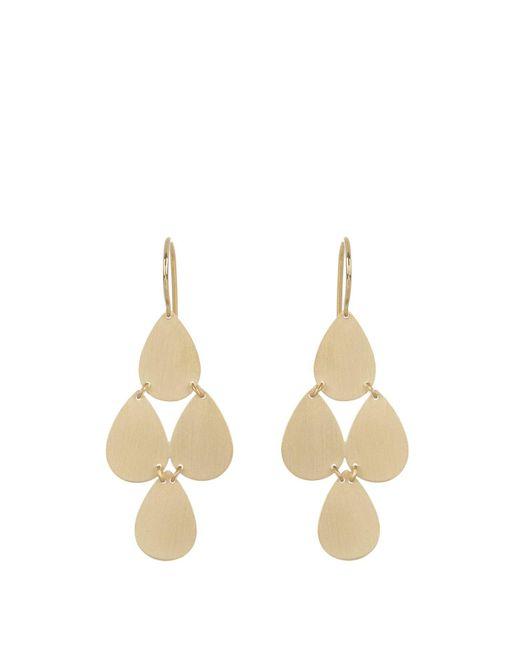 Irene Neuwirth - Metallic Yellow-gold Chandelier Earrings - Lyst