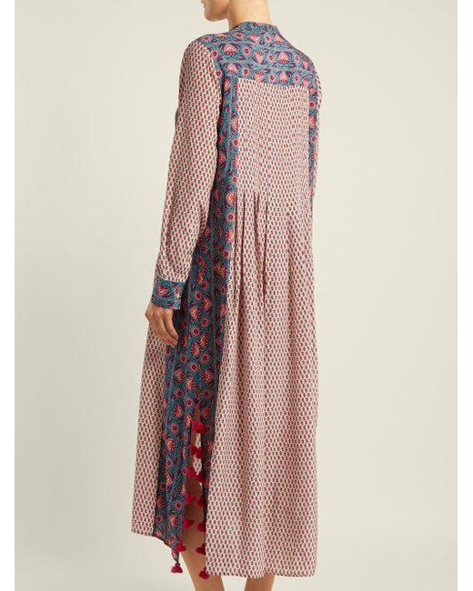 Sale Looking For Free Shipping Factory Outlet Rumi floral-print silk kaftan Figue Cheap Sale Inexpensive Discount Fashion Style Discount Exclusive vsO7AJP