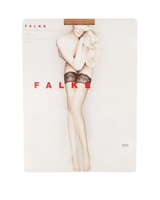 Falke - Multicolor Invisible Deluxe 8 Hold-ups - Lyst