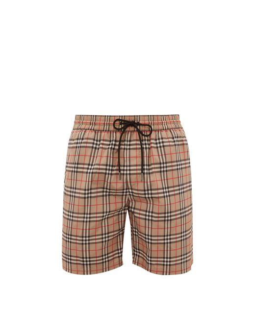 Burberry Multicolor Vintage Check Swim Shorts for men