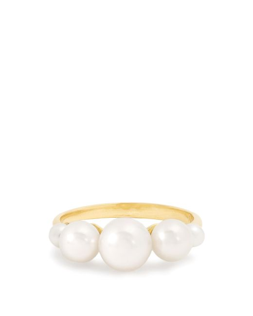 Irene Neuwirth - Multicolor Pearl & Yellow-gold Ring - Lyst
