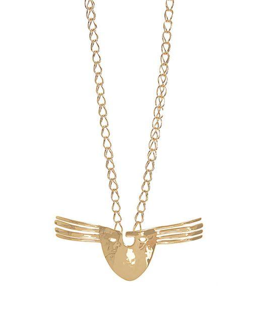 Aurelie Bidermann - Metallic Pearl & Yellow-gold Necklace - Lyst