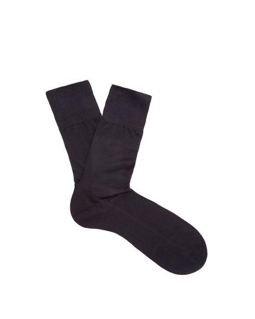 Falke - Blue N°4 Silk Socks for Men - Lyst