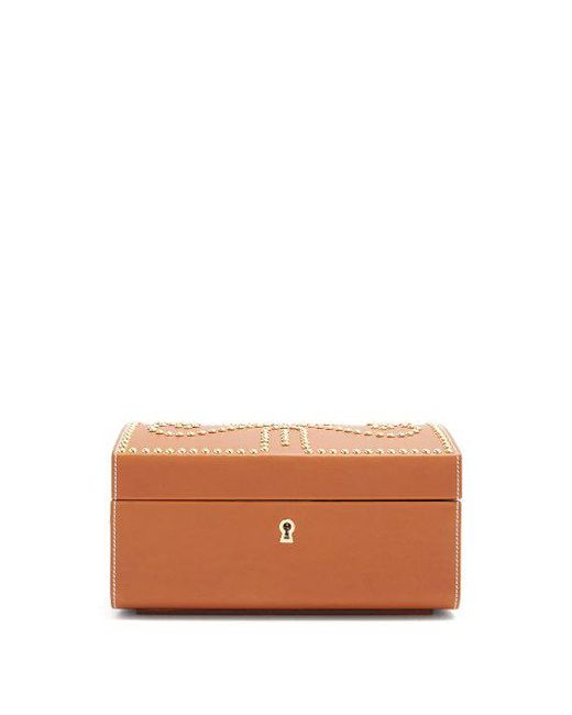 CONNOLLY - Multicolor - Nomadic Stud Embellished Vanity Case - Womens - Tan - Lyst