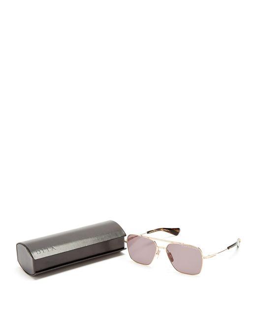 e94948f1479bd ... Dita Eyewear - Metallic Flight Seven Aviator Titanium Sunglasses for  Men - Lyst ...