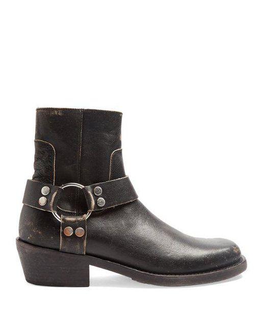 Balenciaga Black Santiago Boots rkxEc