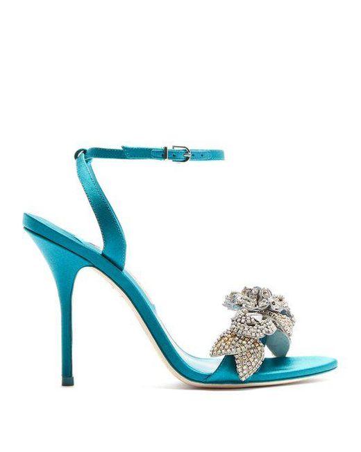 Lilico crystal-embellished suede platform sandals Sophia Webster JRghtJ4
