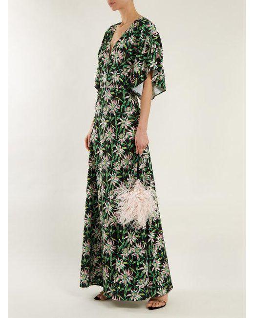 Beverly V-neck floral-print dress Dodo Bar Or Fg1rgwQA3
