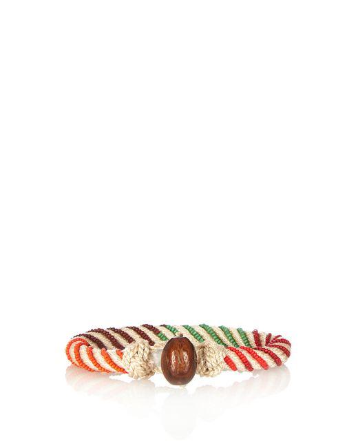 Aurelie Bidermann | Multicolor Maya Bead-embellished Bracelet | Lyst