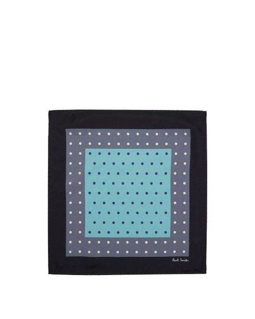 Polka-dot tricolour pocket square Paul Smith Geniue Stockist Cheap Online PSUVz2M