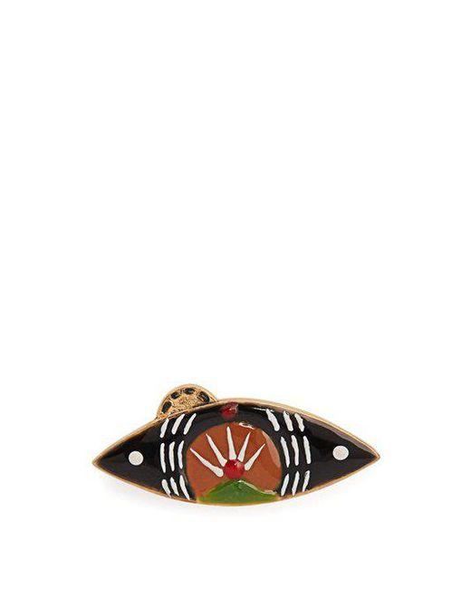 Isabel Marant - Green Eye Brooch - Lyst