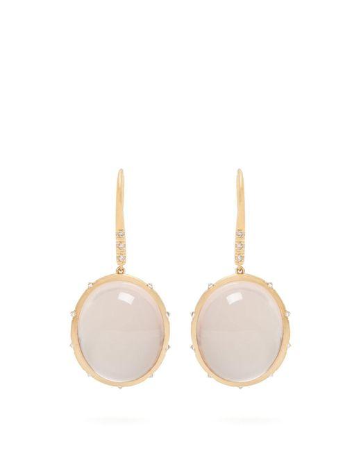 Susan Foster - Multicolor Diamond & Yellow-gold Earrings - Lyst