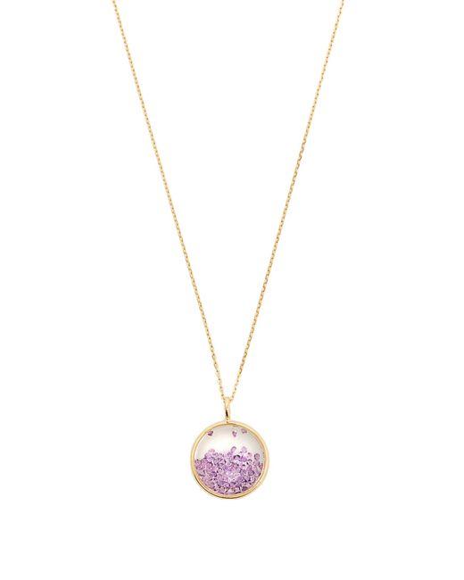 Aurelie Bidermann | Purple Amethyst & Yellow-gold Necklace | Lyst
