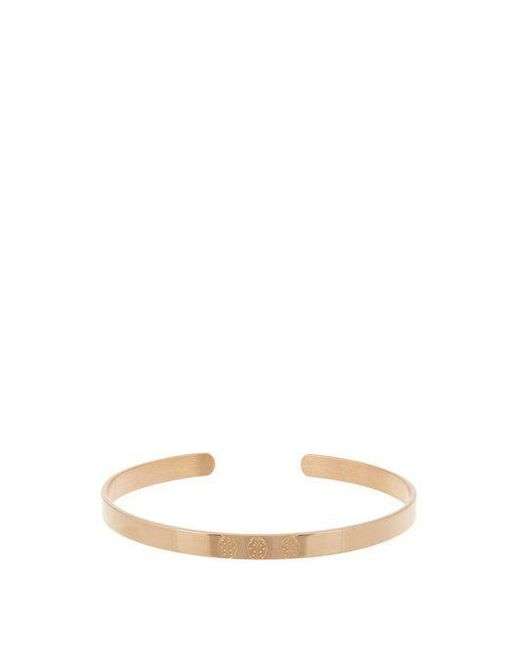 Aurelie Bidermann - Multicolor Ladybird-engraved Rose-gold Plated Cuff - Lyst