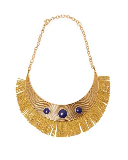 Aurelie Bidermann - Multicolor Azzura Lapis Stone Fringe Necklace - Lyst