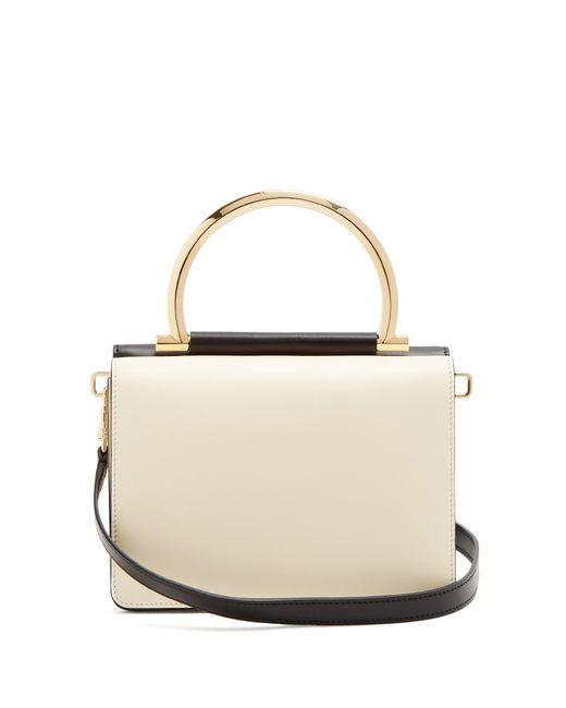 Ferragamo | Black Mina Mini Leather Shoulder Bag | Lyst