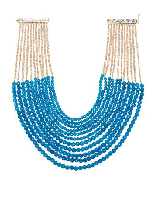 Rosantica By Michela Panero - Blue Raissa Beaded Necklace - Lyst