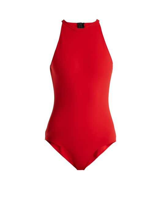 Rochelle Sara - Red The River Swimsuit - Lyst