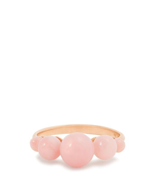 Irene Neuwirth | Pink Opal & Rose-gold Ring | Lyst