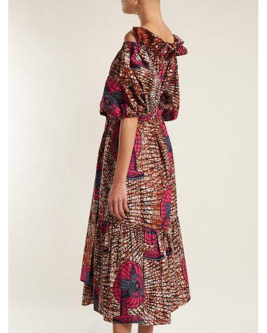 Jeny graphic-print cotton dress Stella McCartney 3YiITDvl