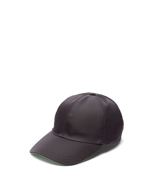 Gants en cuir nappa à plaque logo Prada pour homme en coloris Black
