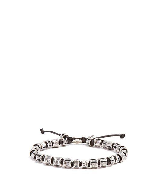 M. Cohen - Metallic Sterling Silver Bone Bracelet for Men - Lyst