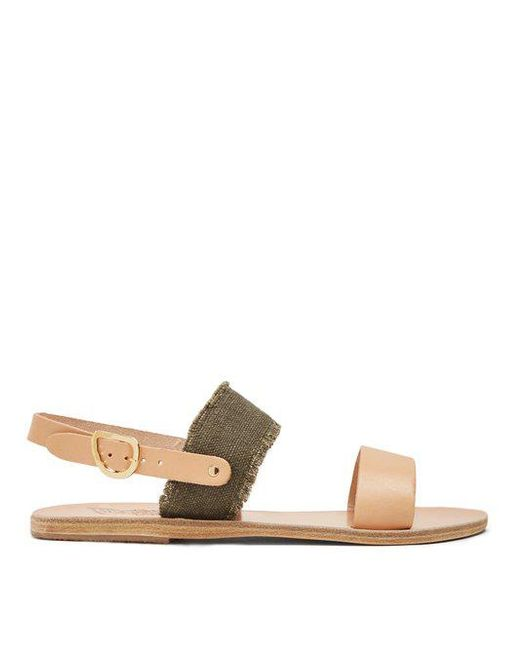 Cheap Sale Best Store To Get Ancient Greek Sandals Dinami leather and satin sandals Manchester Great Sale Cheap Sale Best Cheap Sale Recommend Discount Release Dates b89yFcCzU