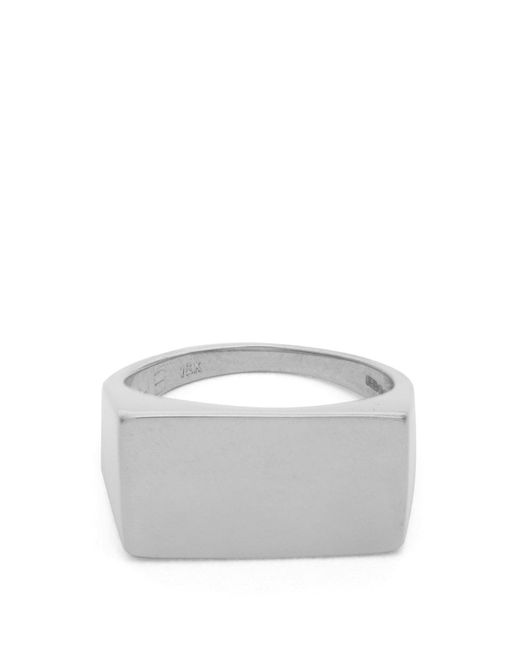 Jessica Biales - Metallic Sterling Silver Ring - Lyst