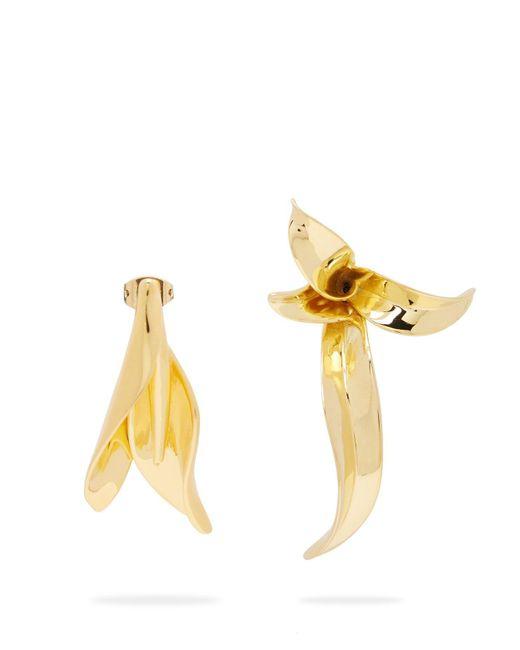 Ryan Storer - Multicolor Sansevieria Sculpted Hoop Earrings - Lyst