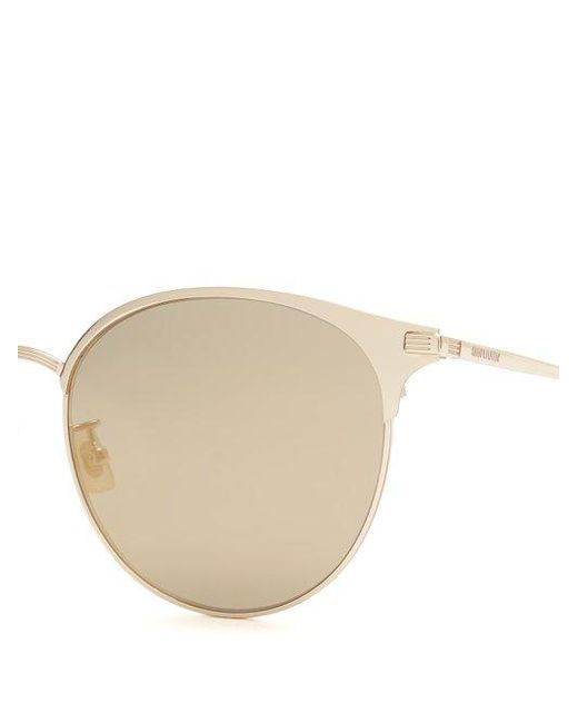 Cat-eye D-frame mirrored sunglasses Saint Laurent XnQ9Dq