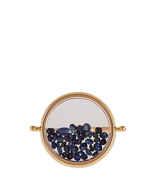 Aurelie Bidermann | Blue Sapphire & Yellow-gold Ring | Lyst